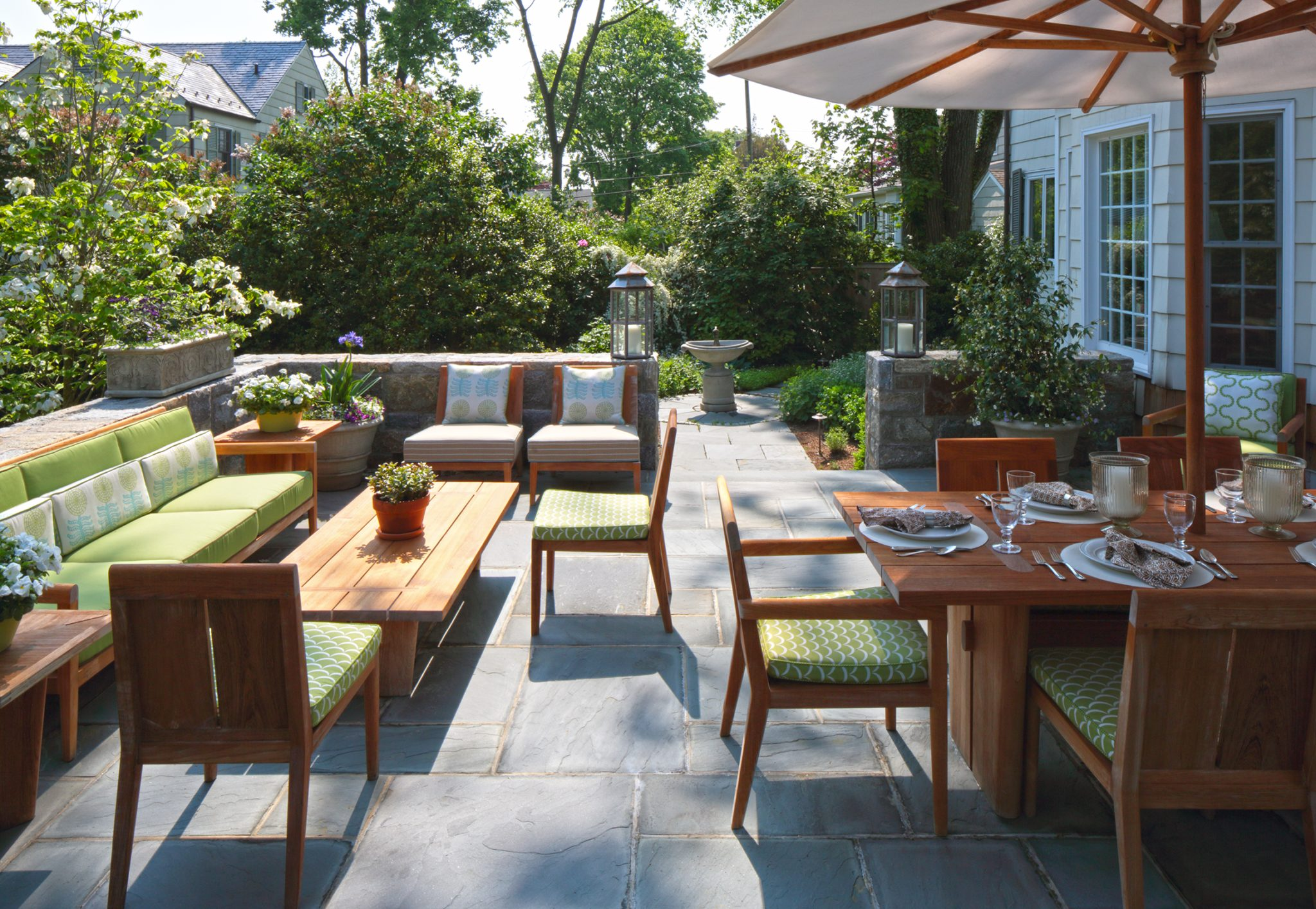 Outdoor Living by Carol Flanagan Interior Design