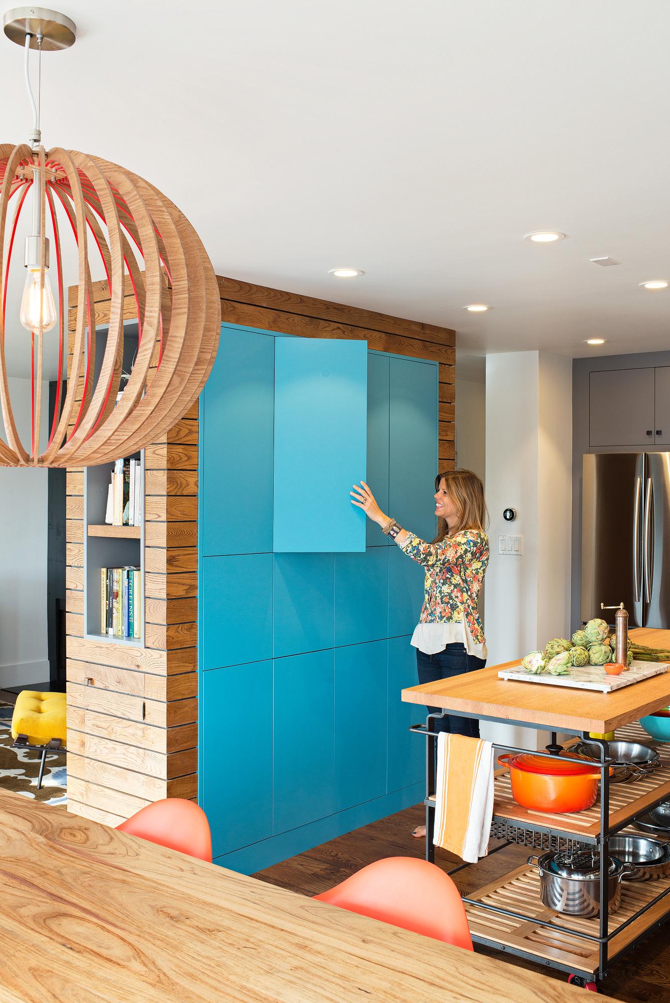 A modern industrial kitchen by Regan Baker Design
