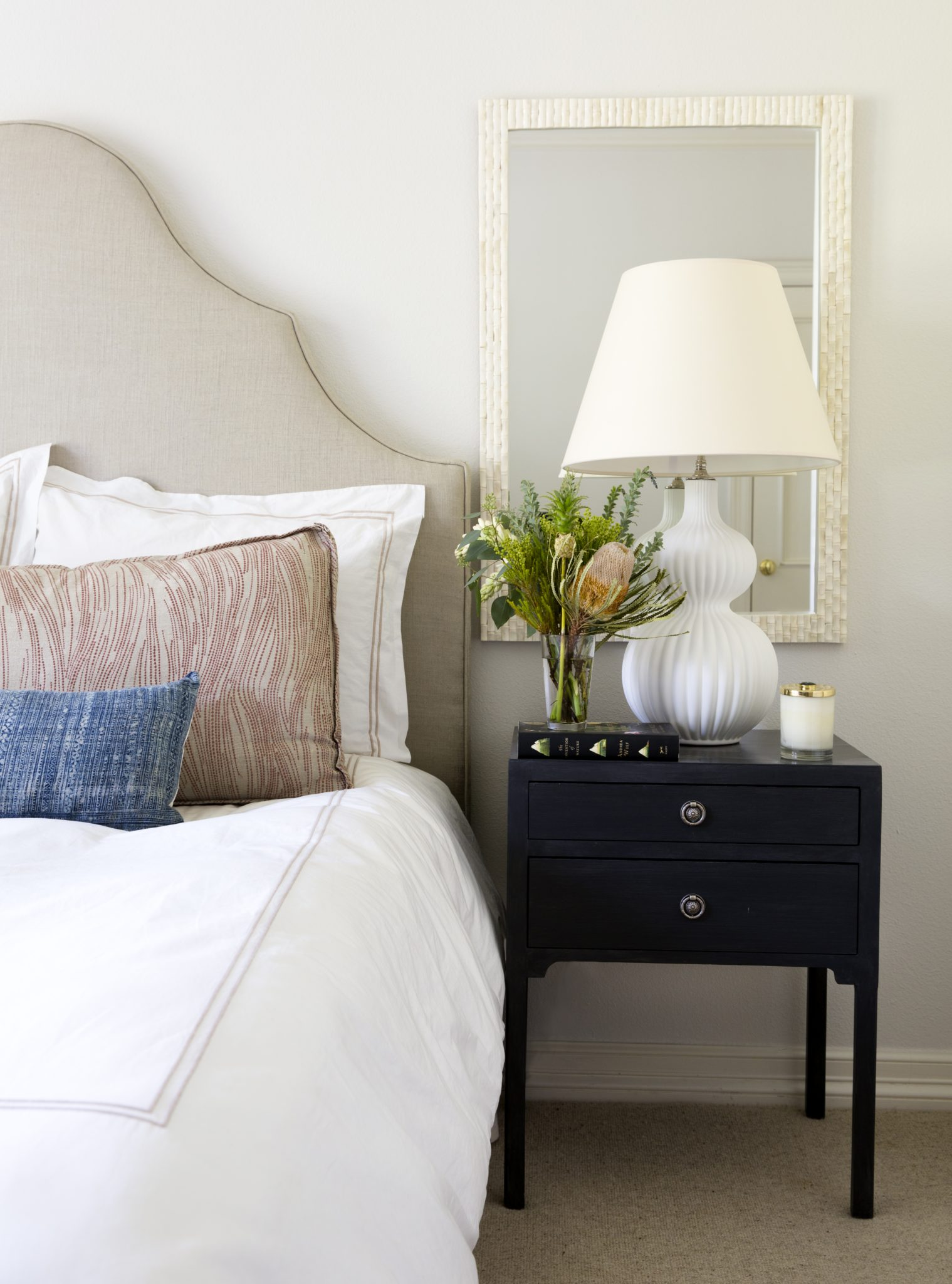 Bedroom- Jarratt Ave. 2 by Annie Downing Interiors