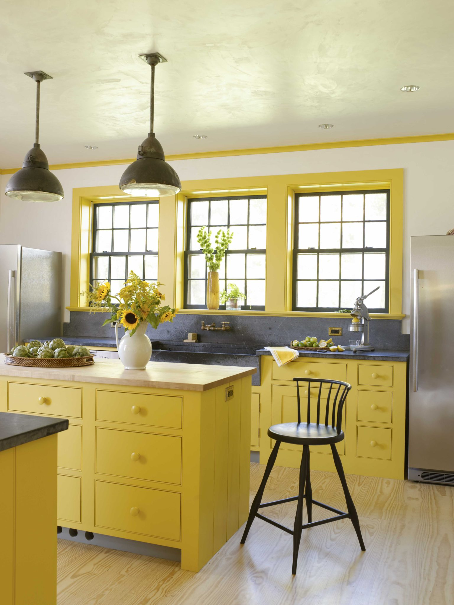 A kitchen in a Connecticut residenceby Hendricks Churchill