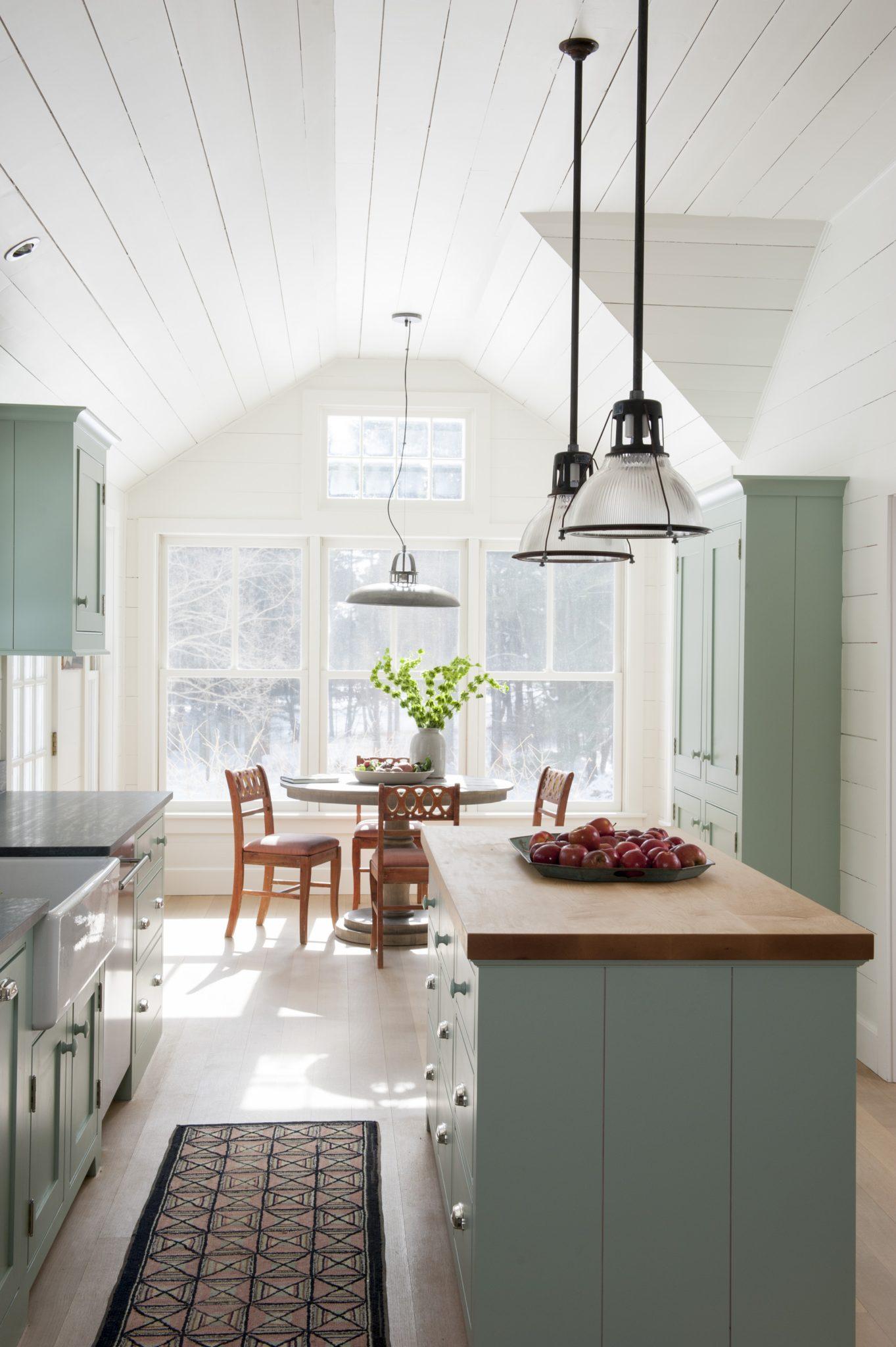 Farmhouse Kitchen Renovation, Salisbury, CT by Hendricks Churchill
