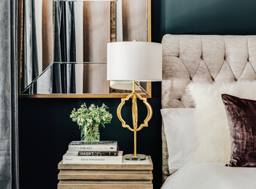 Cozy Bedside Vignettes