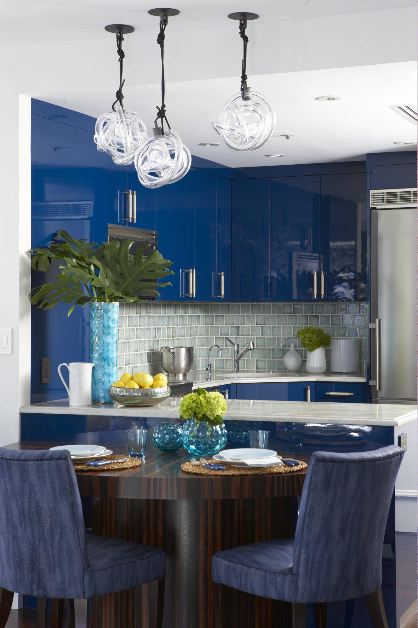 Waterfront Condo Kitchen by Rachel Reider Interiors