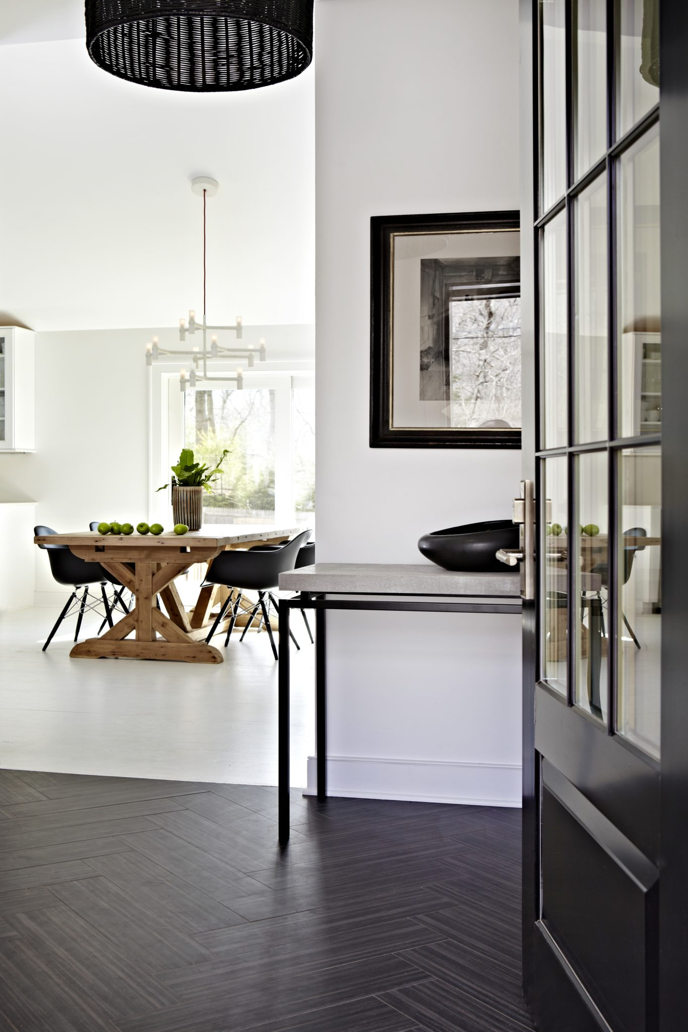 Sag Harbor Village Entryway by Winter McDermott Design