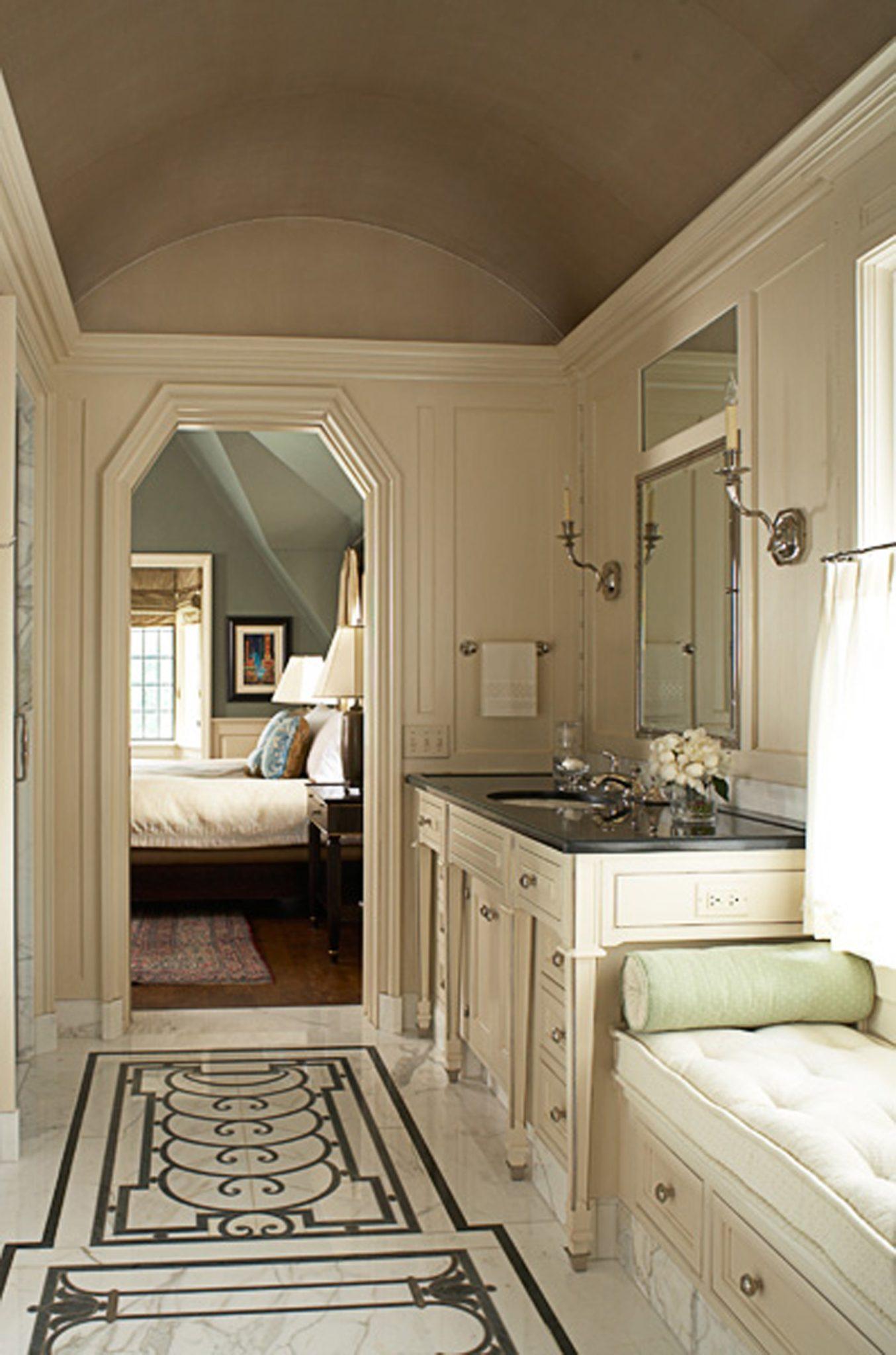 North Shore estate master bath by Bruce Fox