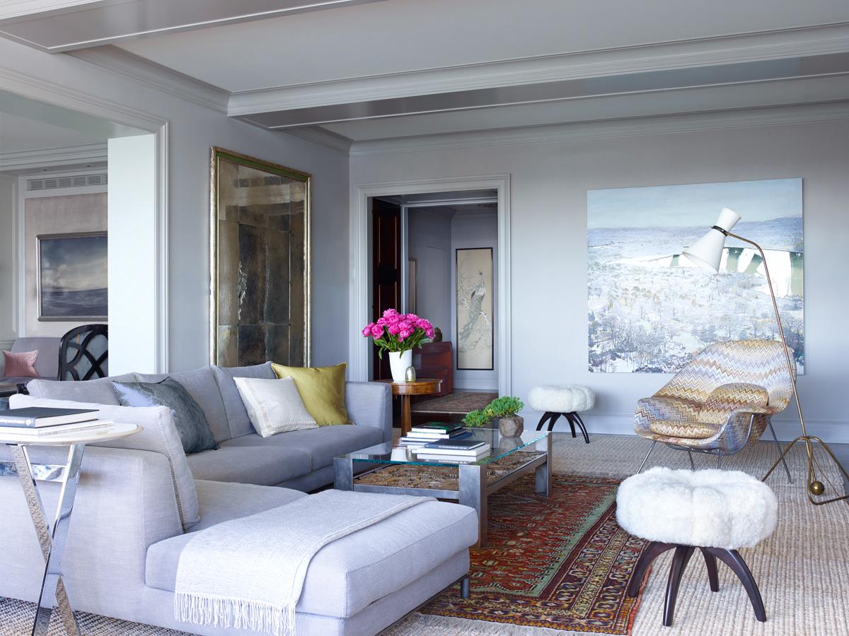 Interior design by Wesley Moon Inc