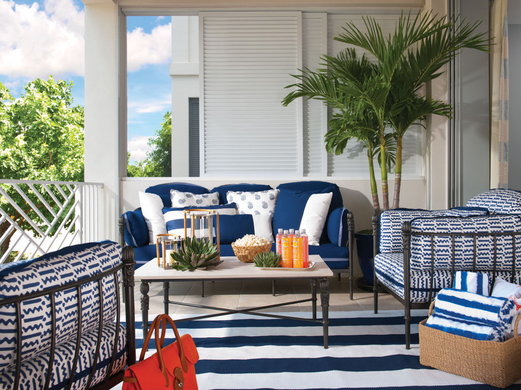 Veranda - Outdoor Room by BettyLou Phillips