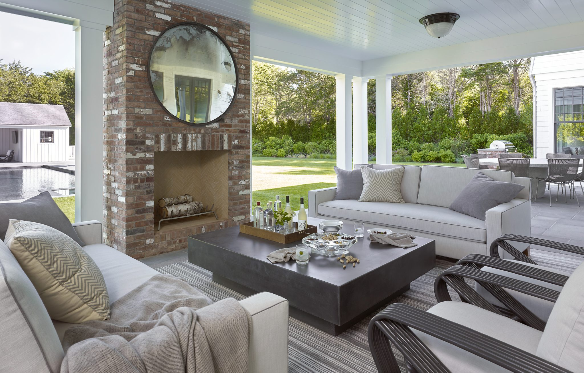East Hampton Outdoor Living by Dan Scotti Design