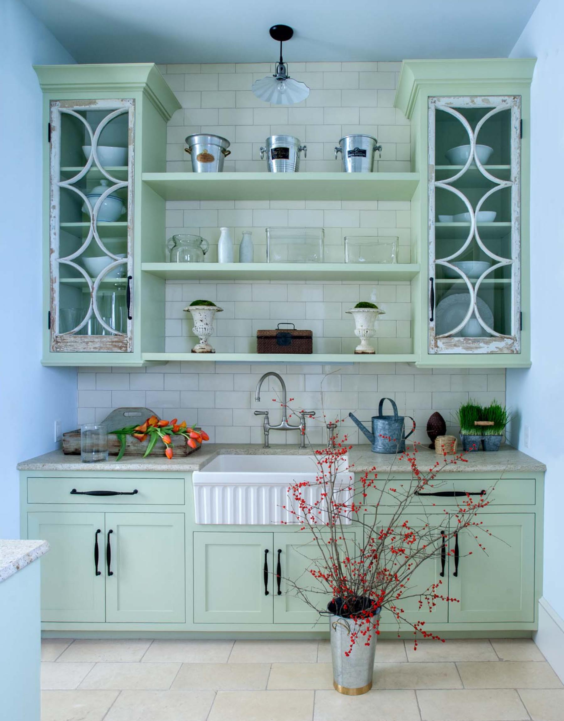 Kitchen at Orr's Island, Harpswell by Banks Design Associates Ltd.