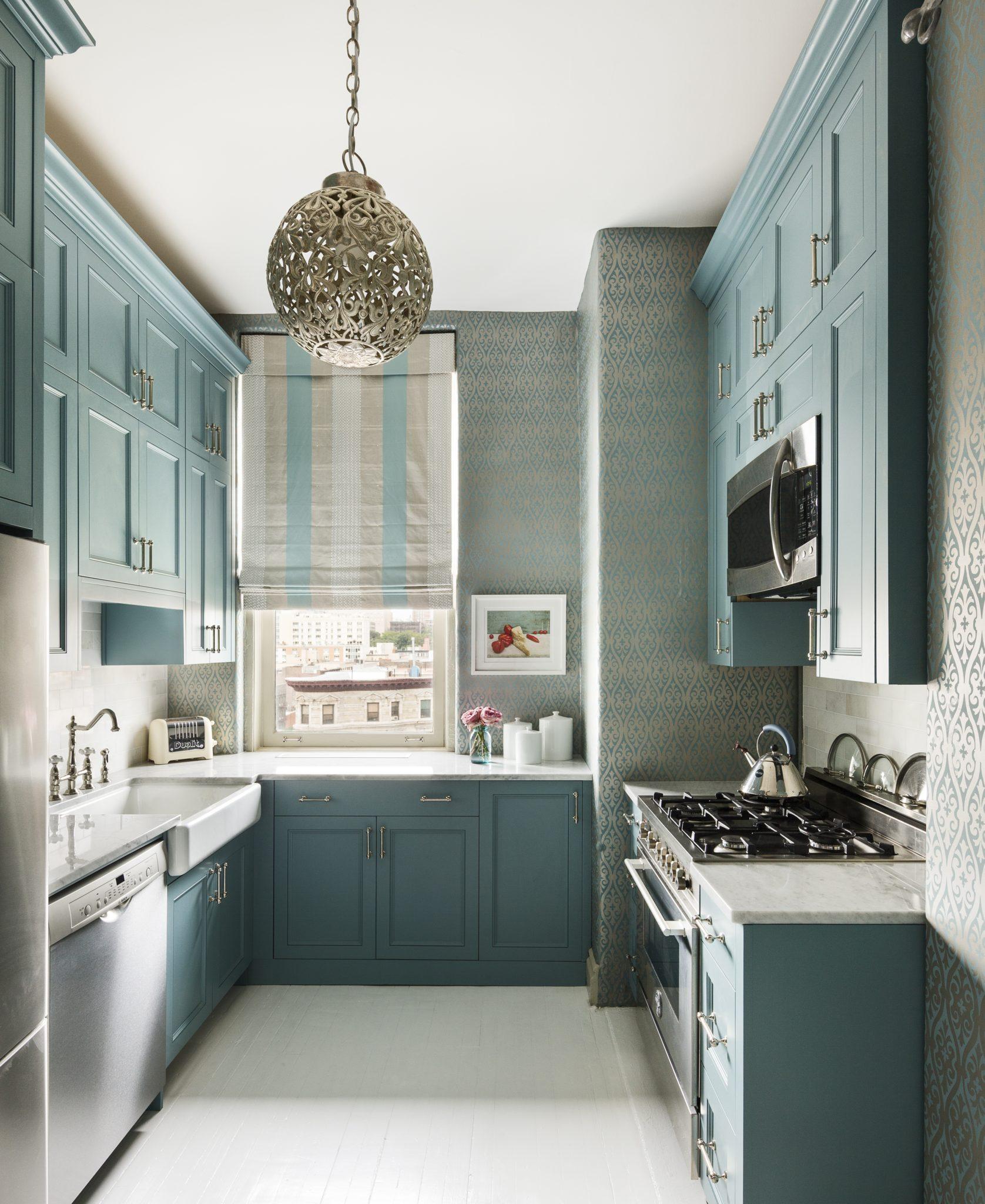 Harlem Landmark Kitchen by Sheila Bridges Design Inc.