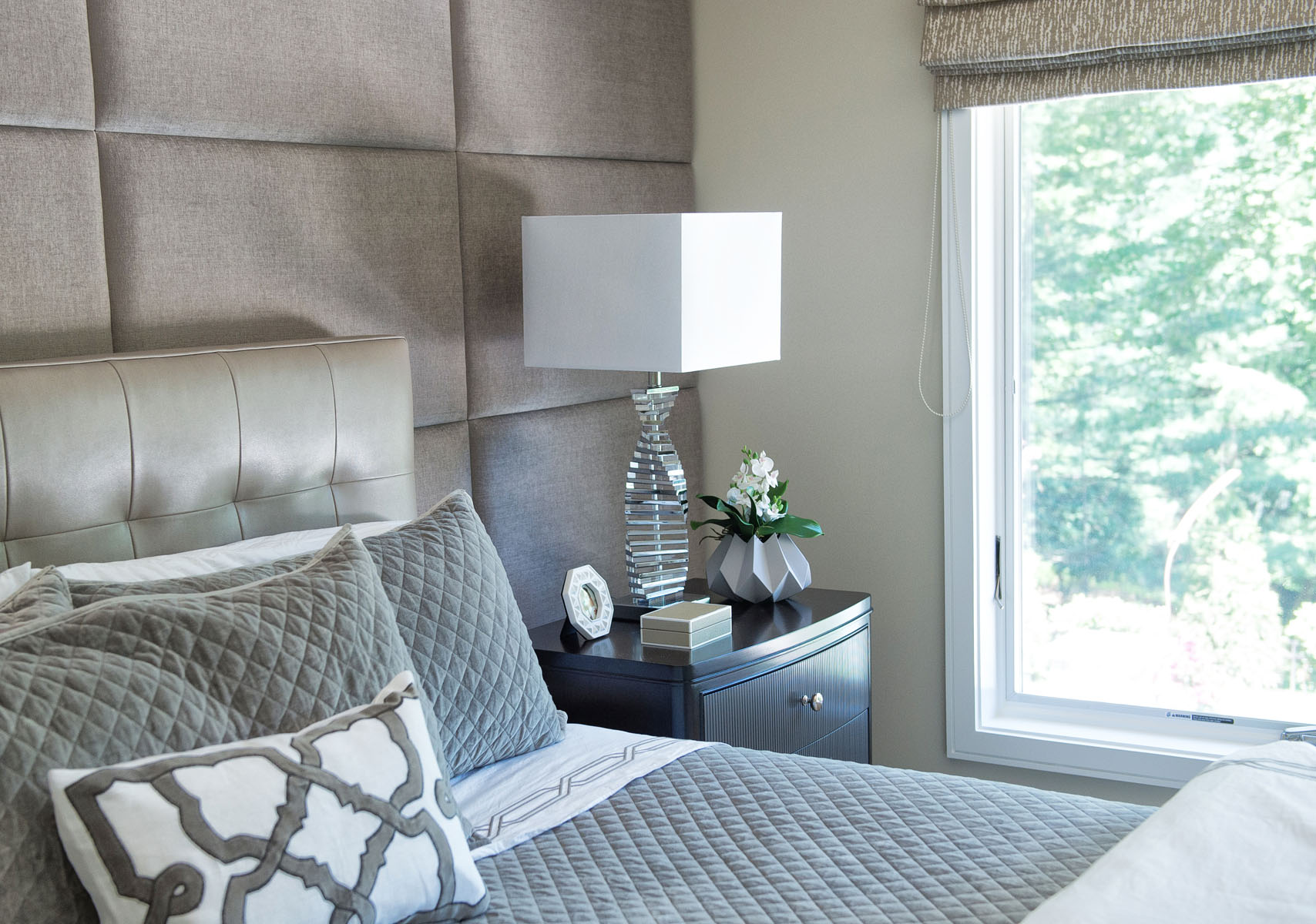 Master Bedroom Renovation, Bedford, NY by Lara Michelle Interiors