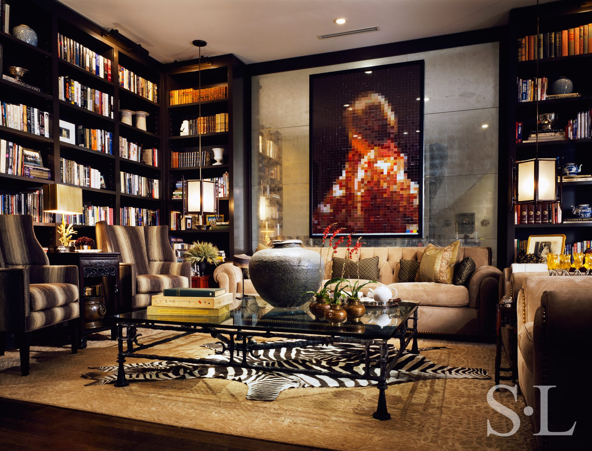 Interior design by Suzanne Lovell Inc.