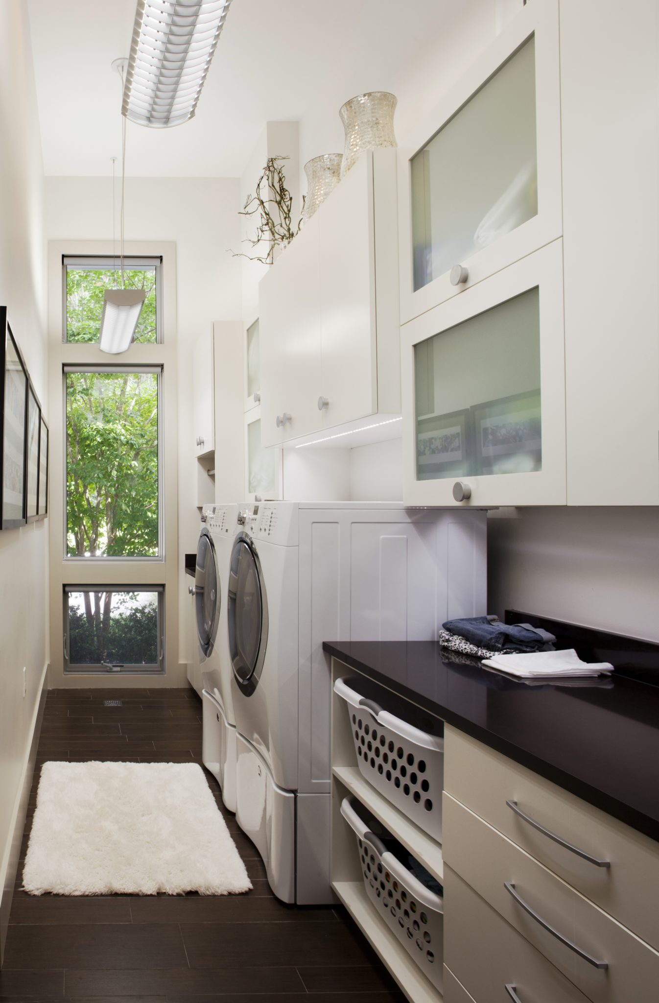Classic Contemporary Laundry by Amanda Webster Design, Inc.