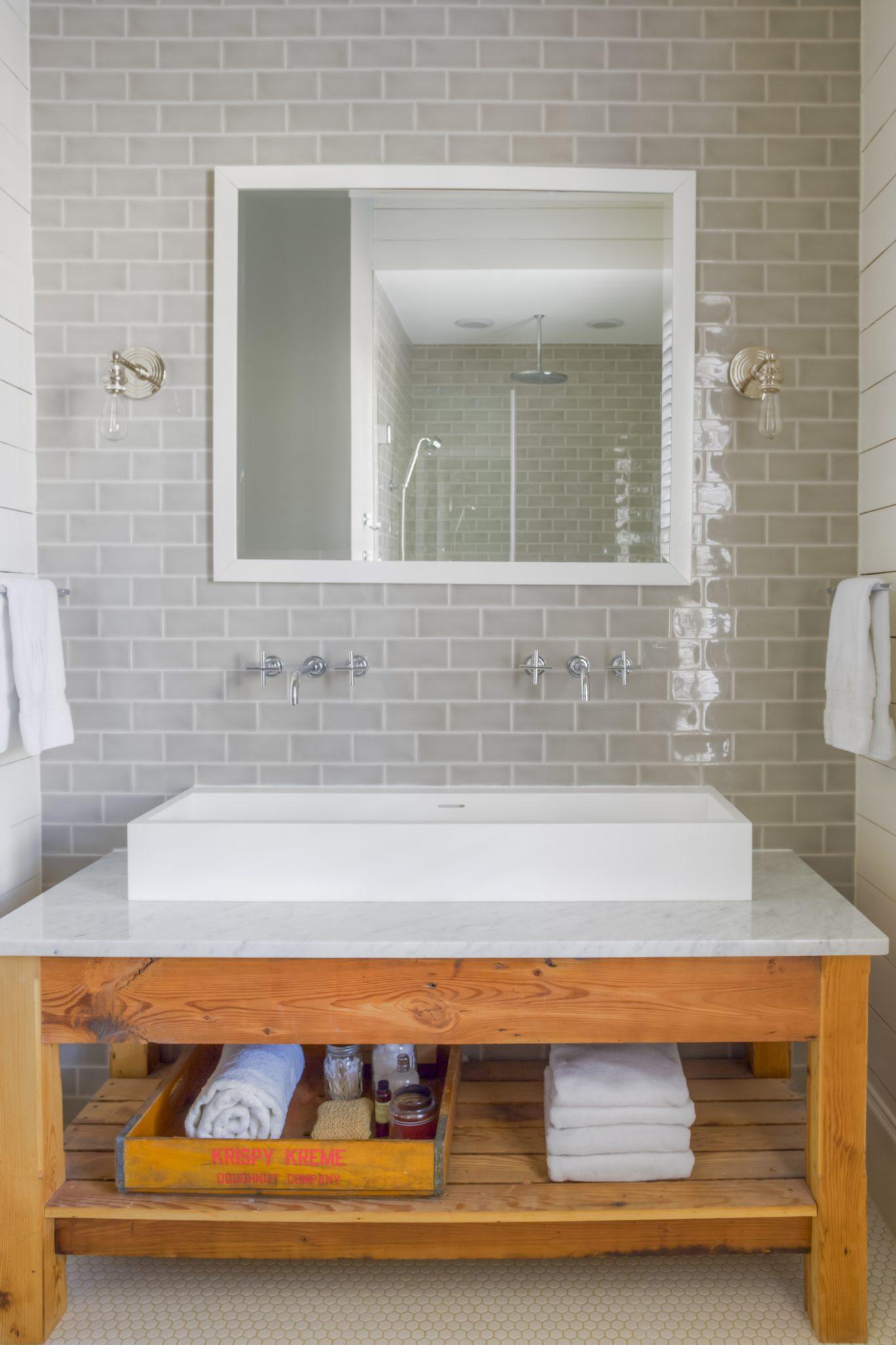 Historic Oakwood Master Bathroom by MA Allen Interiors