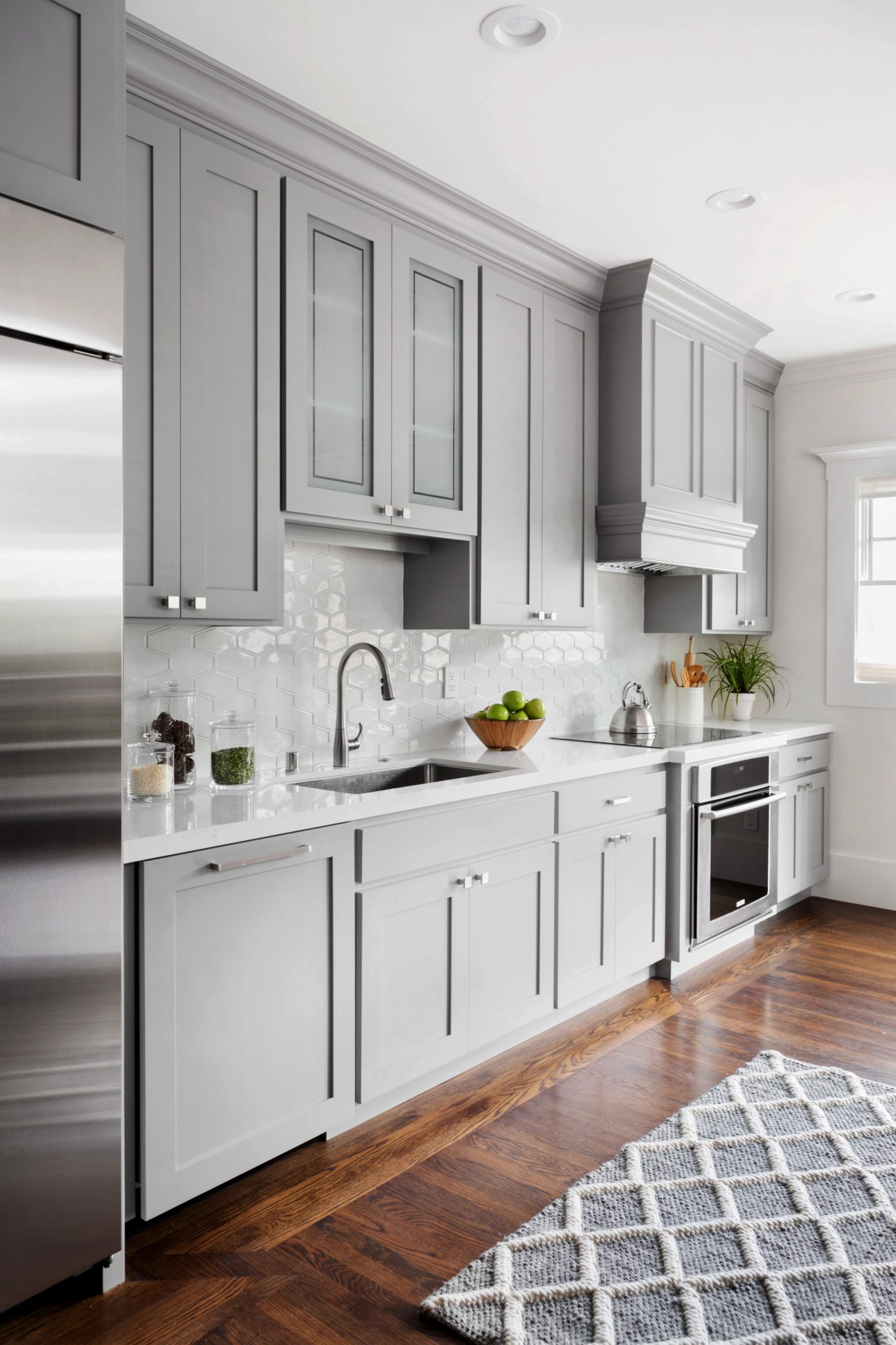 The Avenues Arts and Crafts kitchen by Suzanne Childress Design