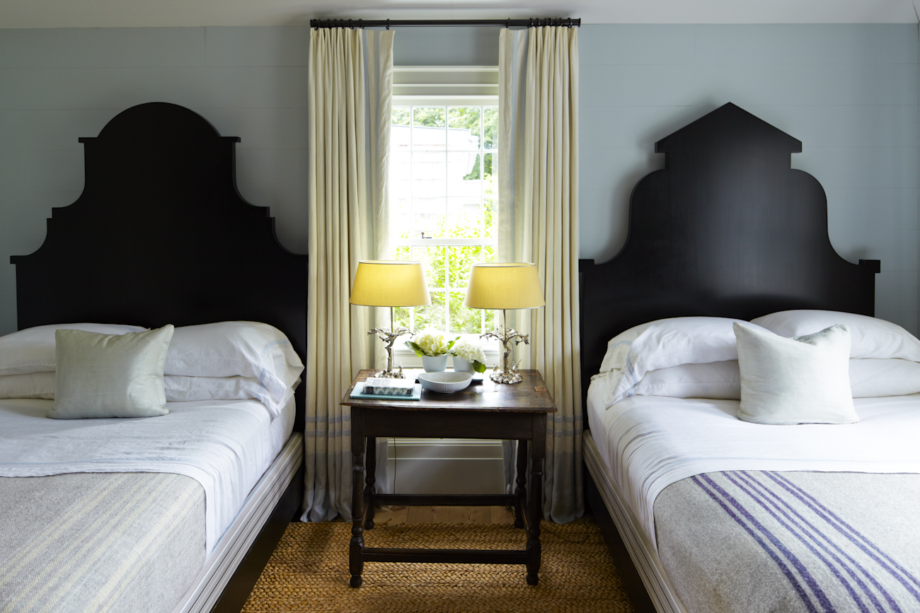 """""""The beds were inspired by Flemish facades I sketched while walking the streets of Brussels."""""""