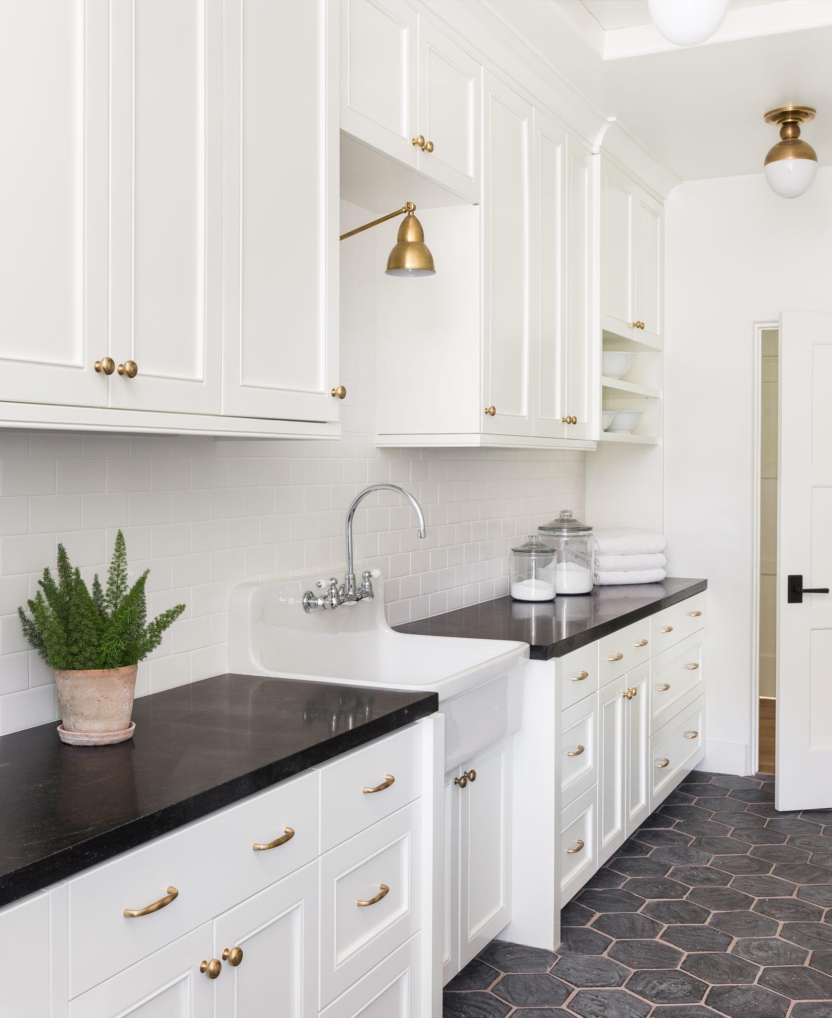 California, Laundry Room by Marianne Simon Design