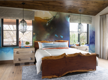 Showstopping Bedrooms with Pendants & Chandeliers