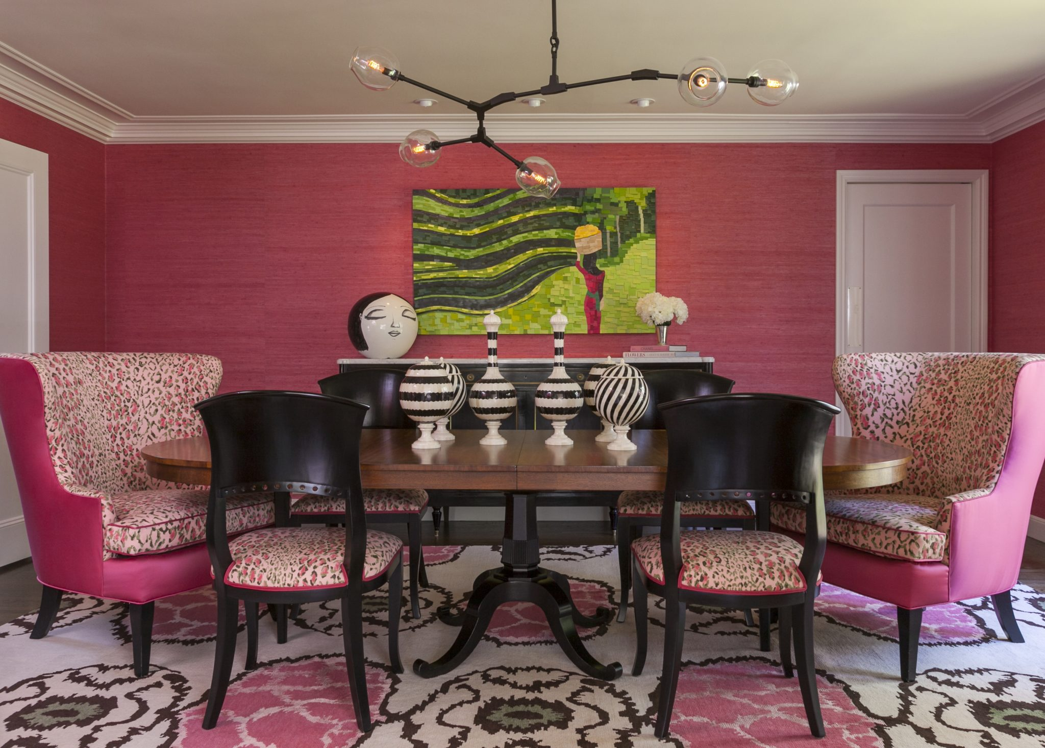 Dining room by House of Ruby Interior Design