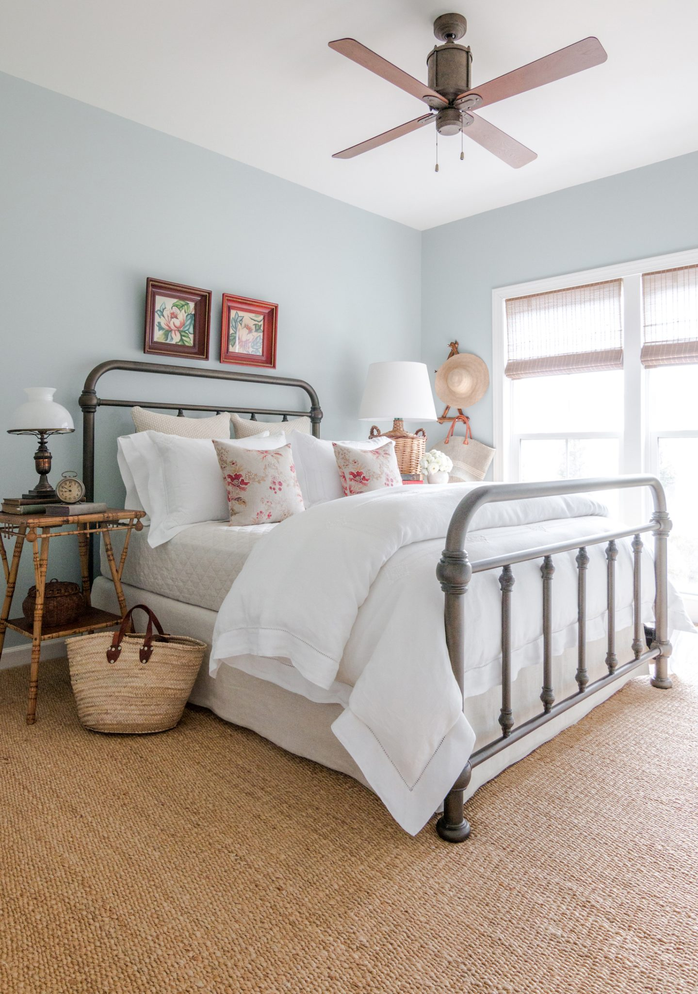 Blue Bedroom by Matthew Caughy