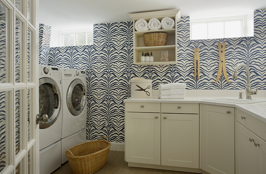 Laundry Room by Liz Caan & Co.