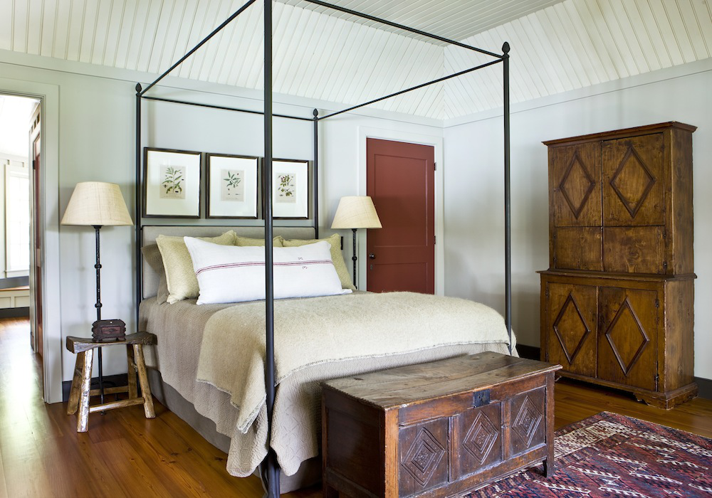 An inviting bedroom by Westbrook Interiors