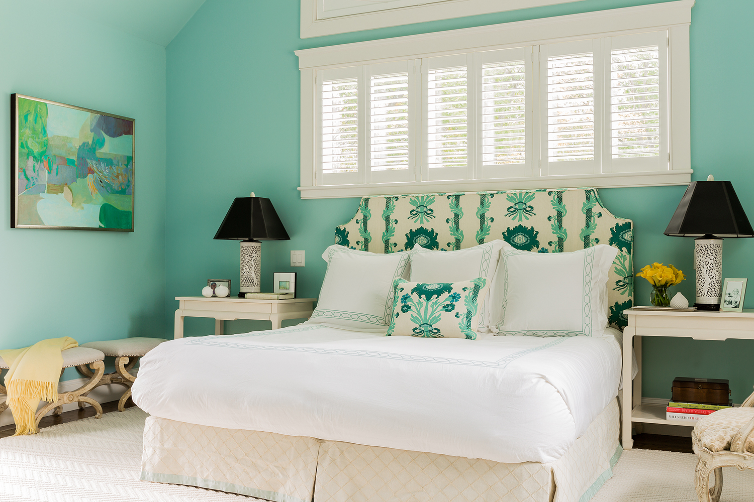 Master Bedroom by Honey Collins Interiors