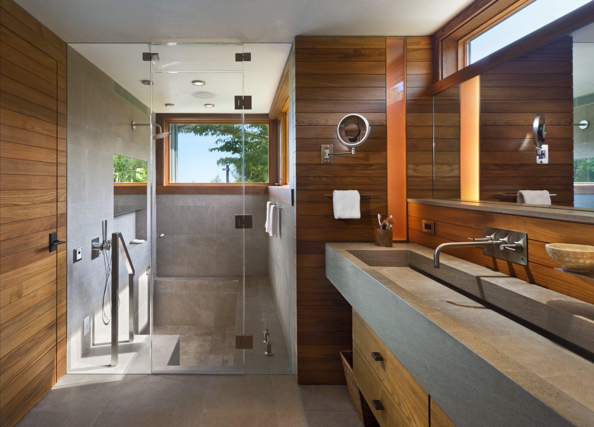 Further Lane Master Bath by Blaze Makoid Architecture