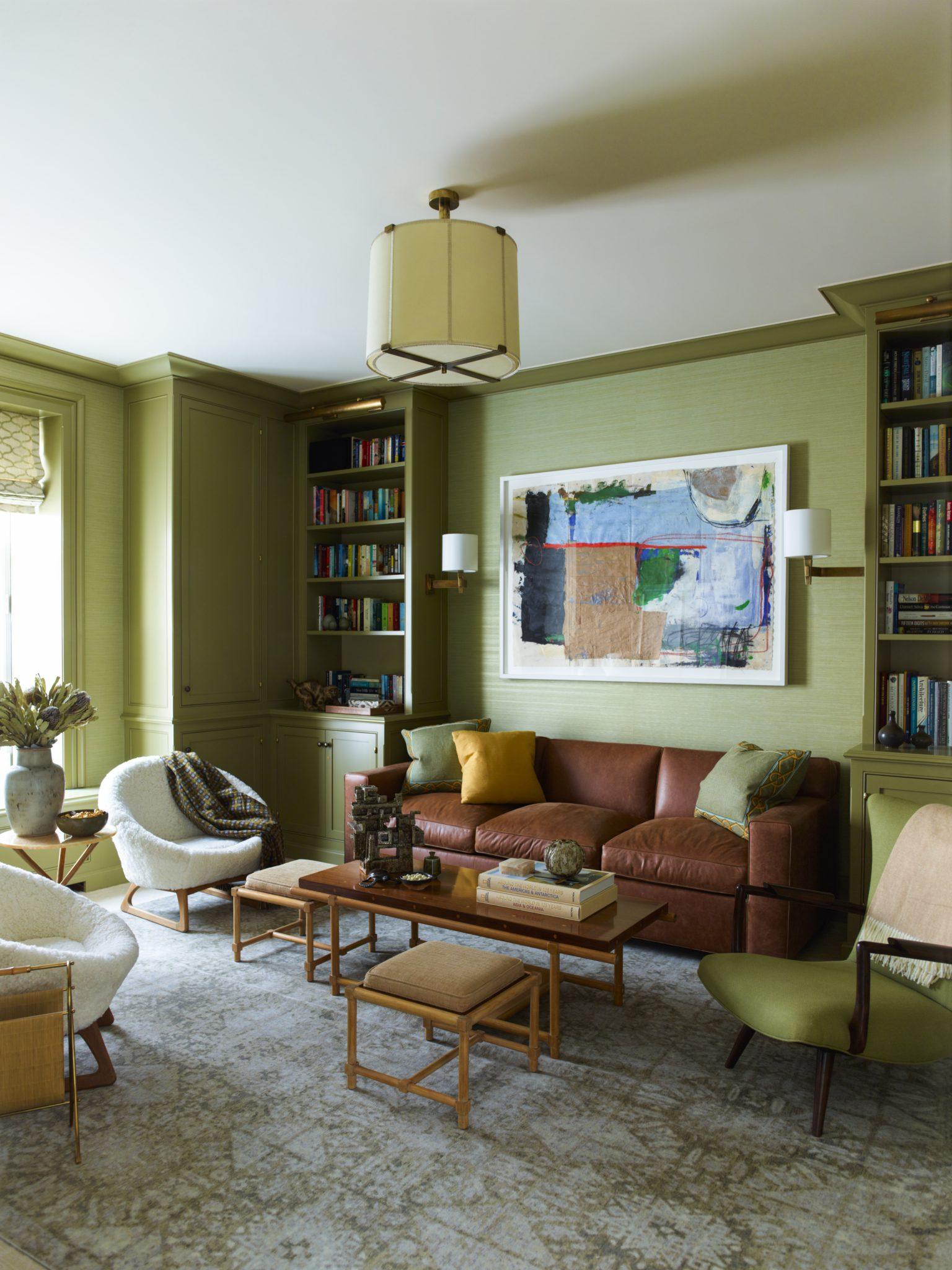 Interior design byMendelson Group, Inc.