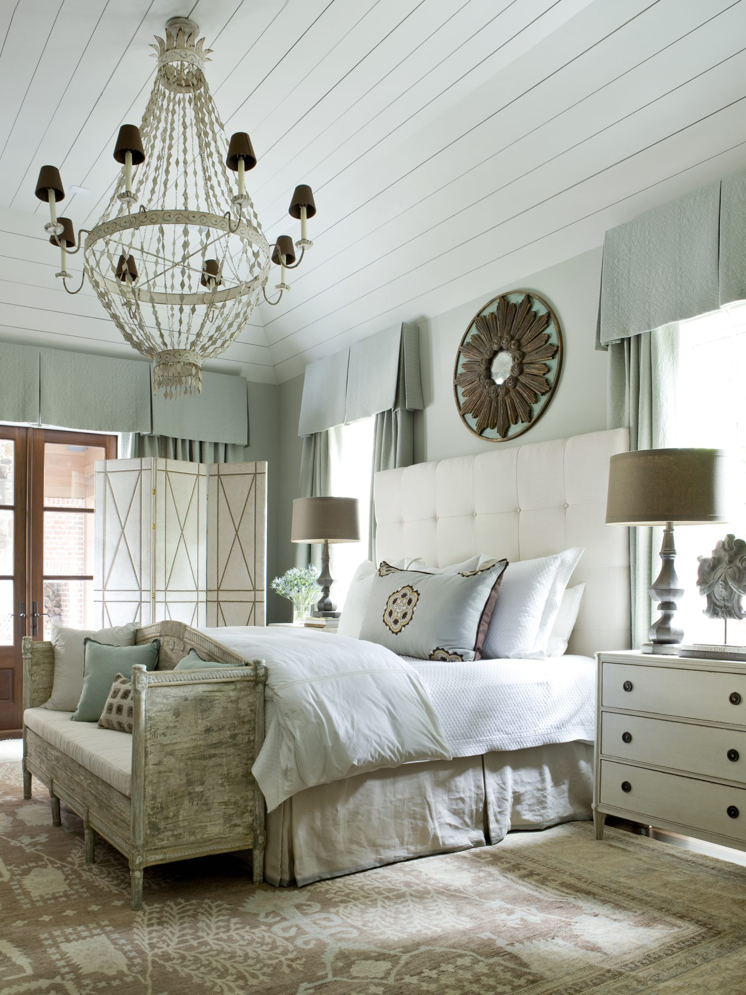 A serene bedroom by Amy Morris