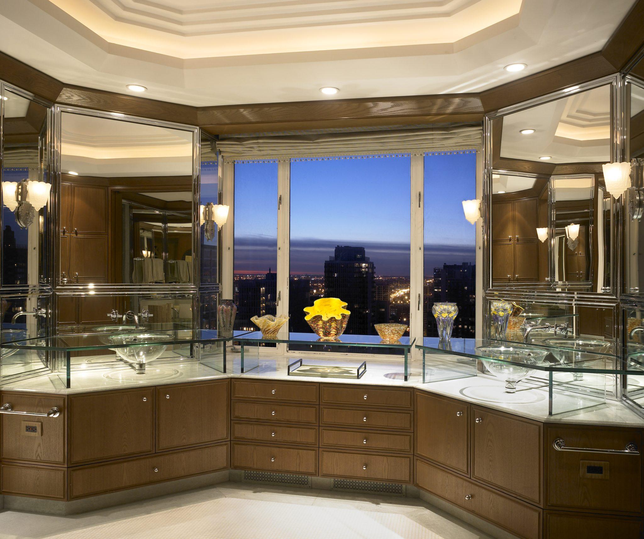 Lake Shore Drive Master Bathroom by Gibbons, Fortman & Associates
