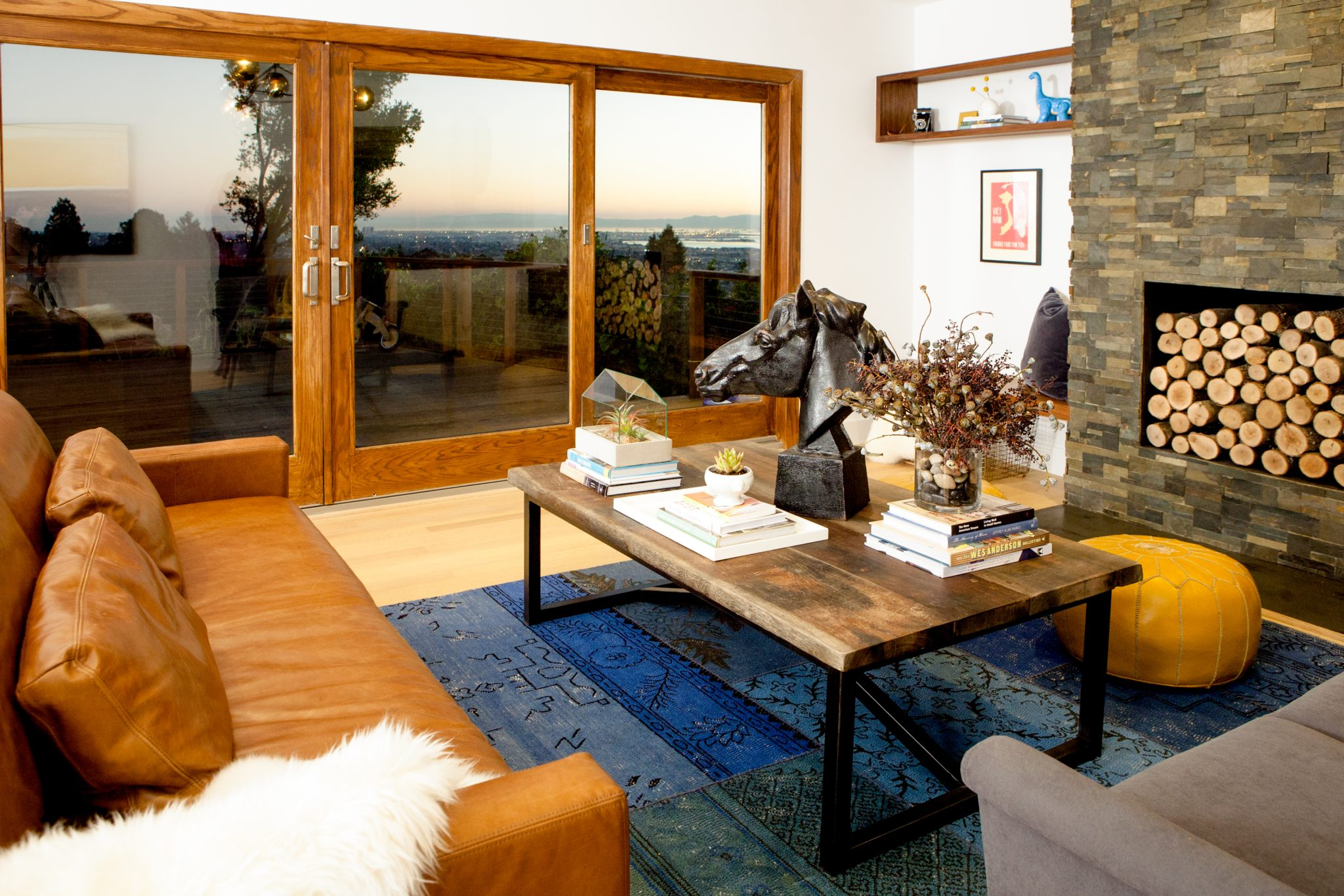 Berkeley Hills mid-century rancher by Regan Baker Design