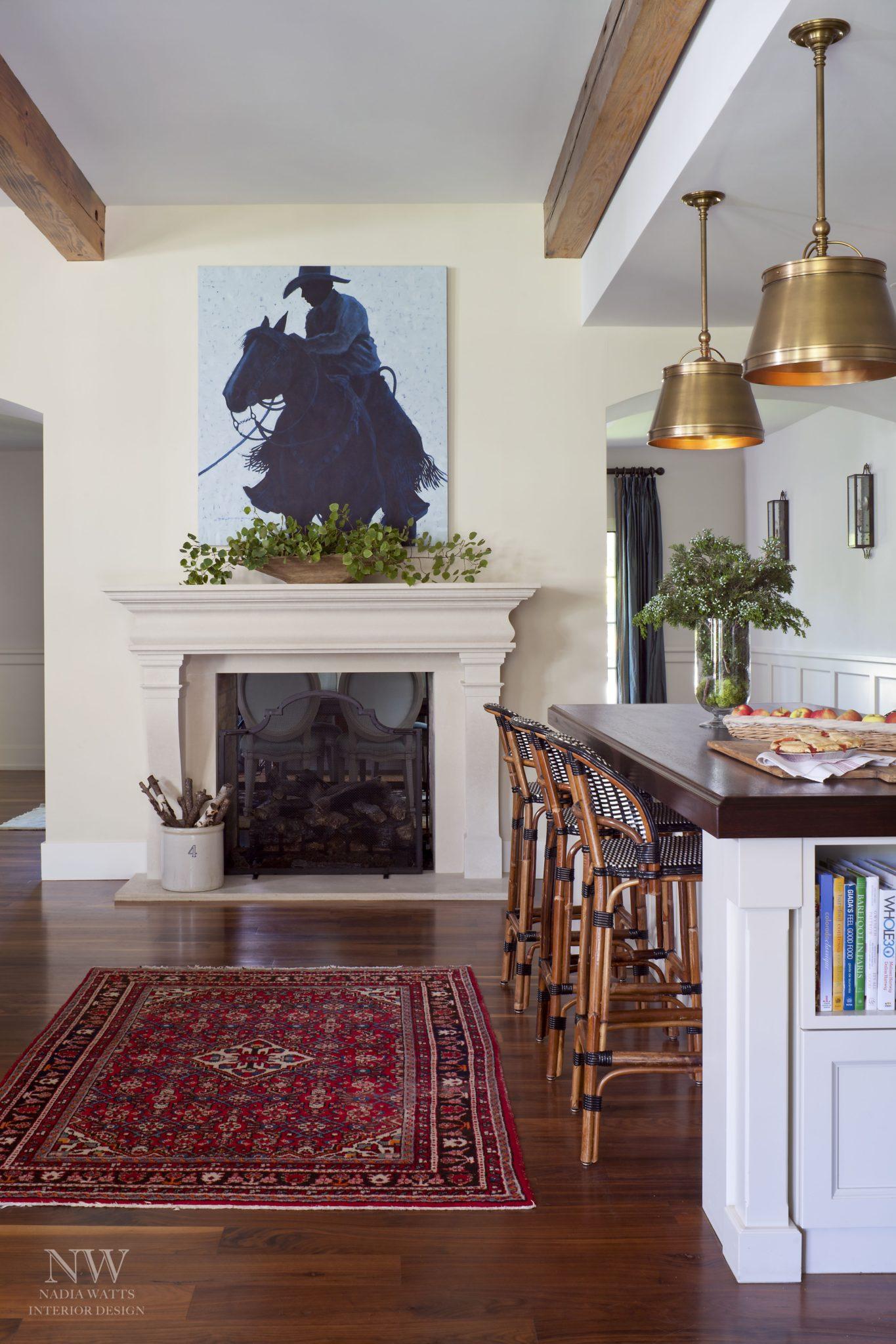 Greenwood Village kitchen detail by Nadia Watts Interior Design