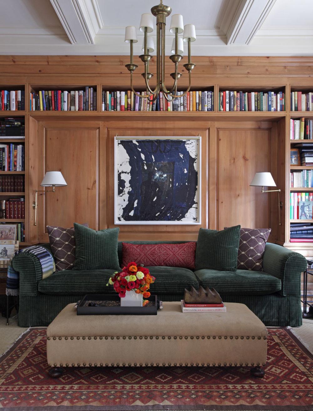 Interior design by Timothy Whealon Inc.