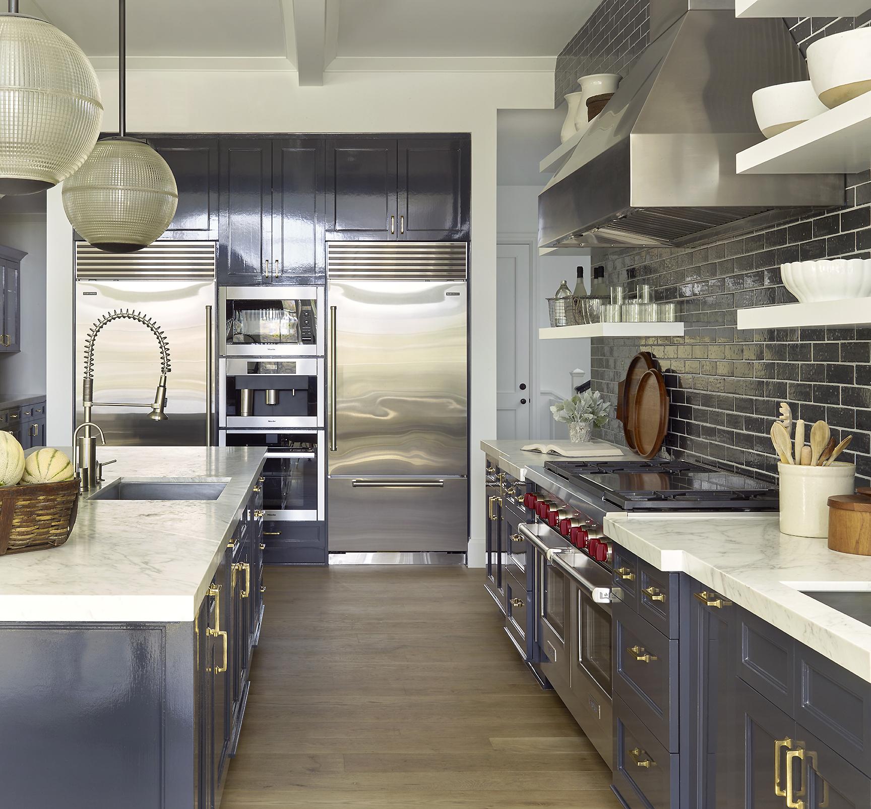 Pacific Palisades kitchen by Dan Scotti Design