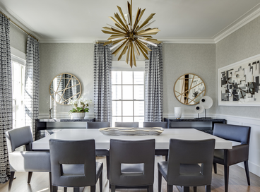 Gorgeous Dining Rooms Featuring Mirrors