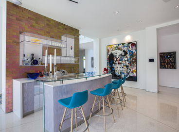 Colorful Home Bars