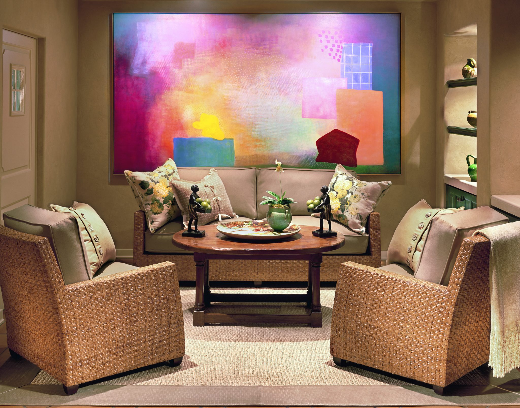 Interior design byBarbara Lee Grigsby Design Associates Inc.