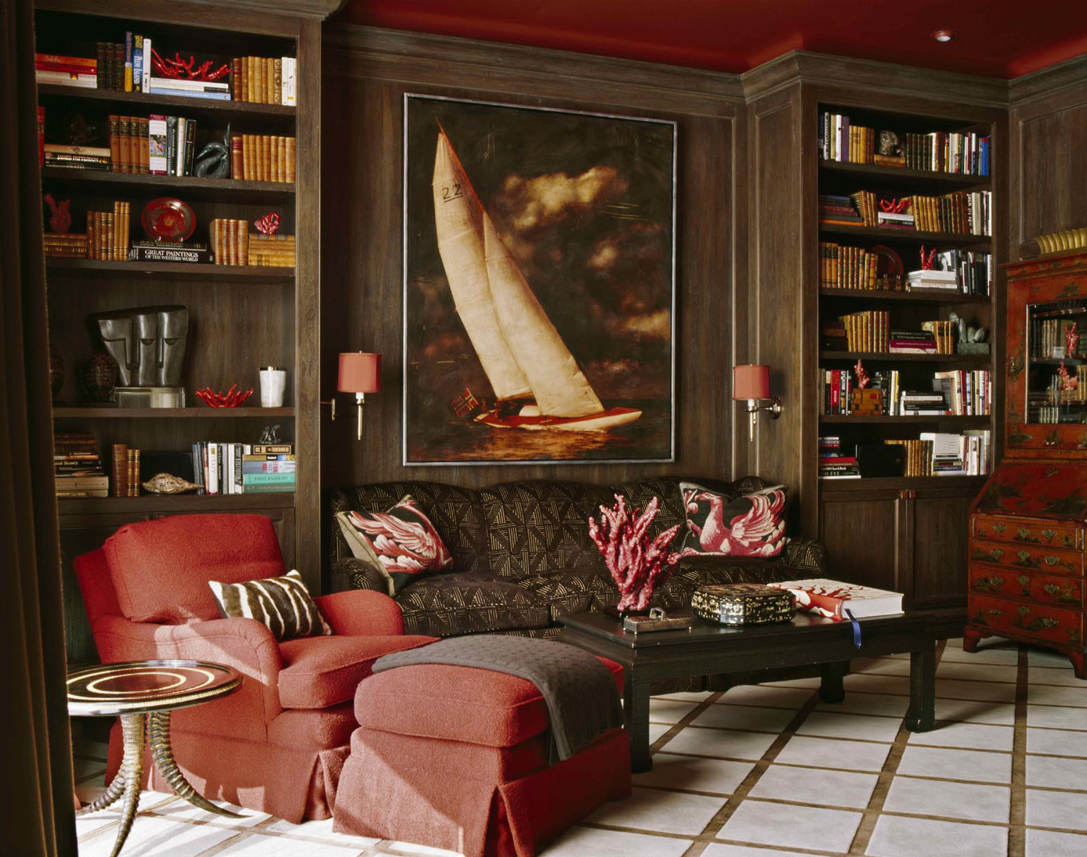 Interior design by Sherrill Canet