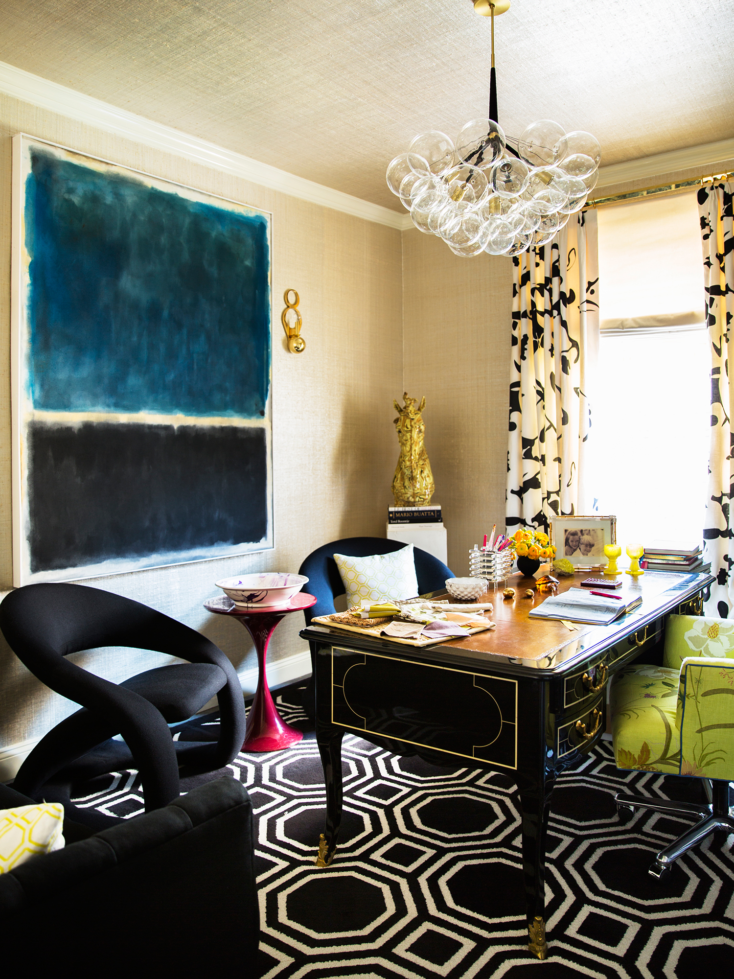 Design office by Amanda Nisbet Design