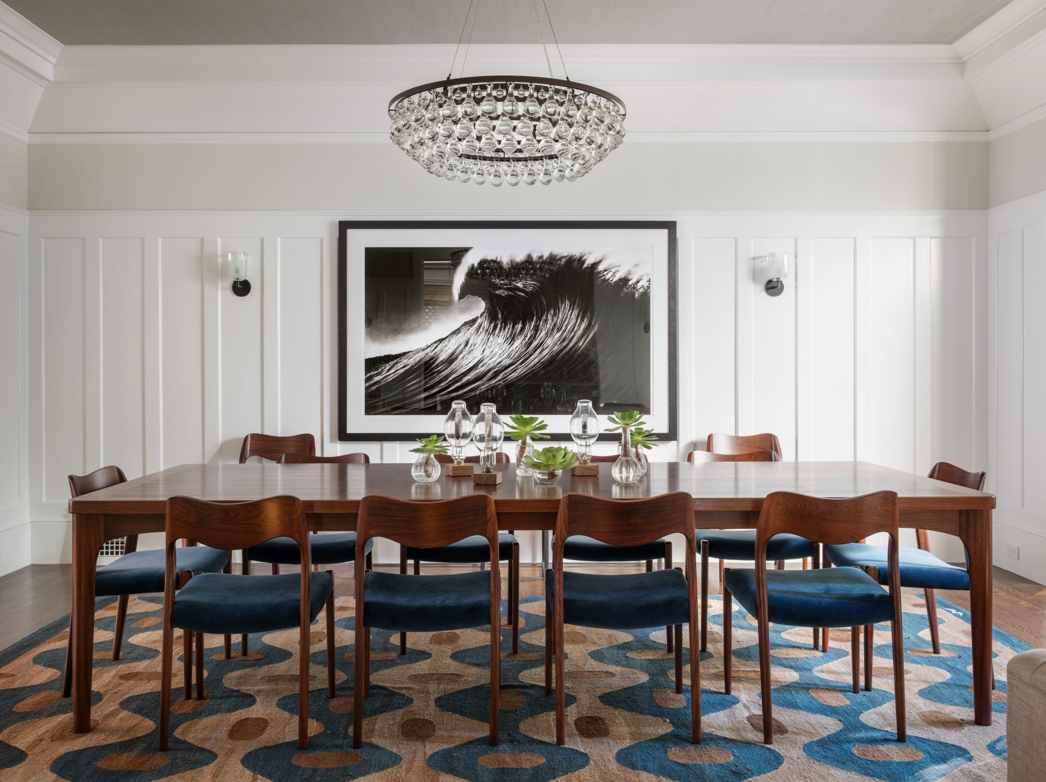 Presidio Heights dining room by Lauren Nelson Design