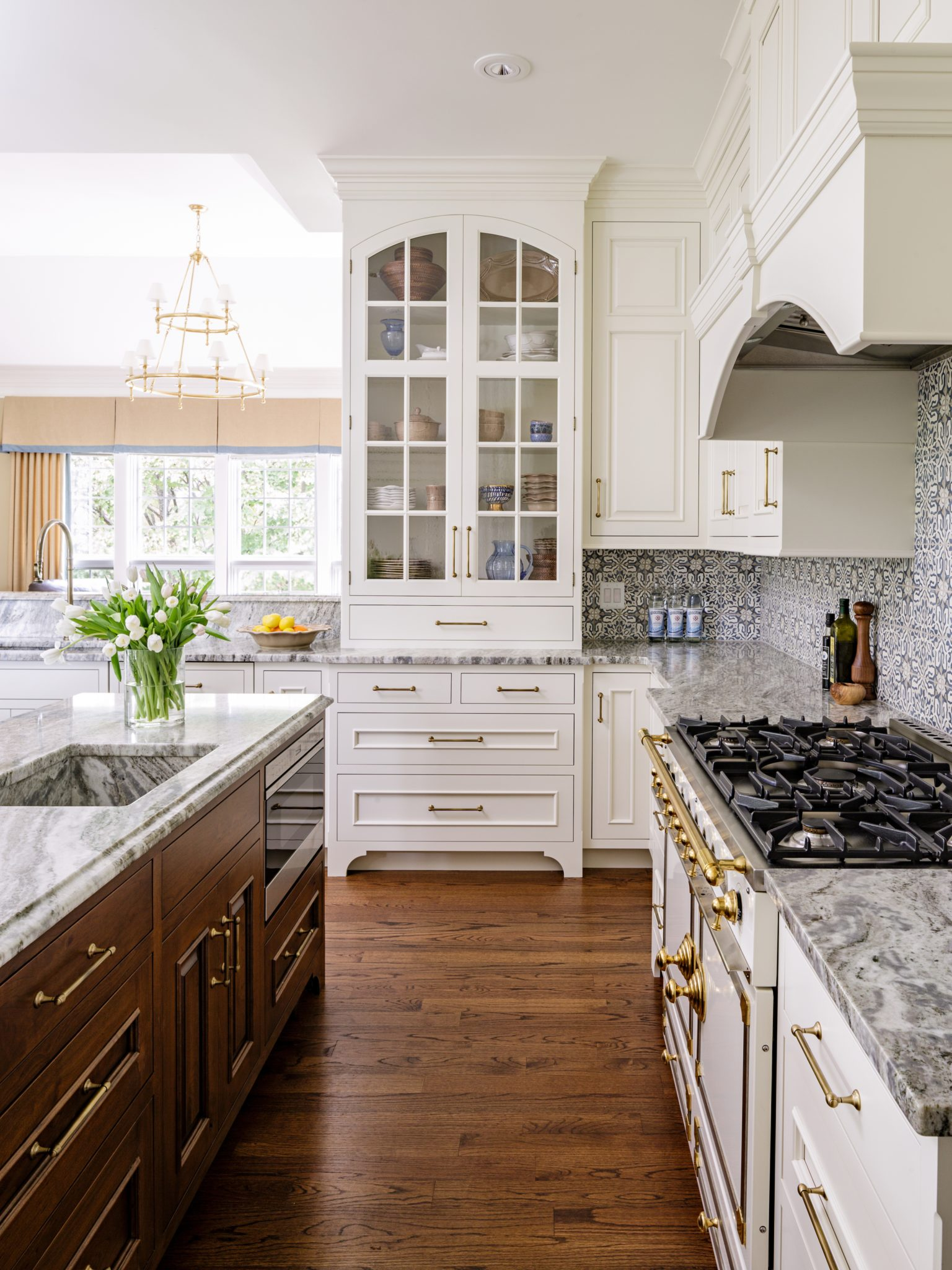 Kitchen China Cabinet by Walsh Hill Design