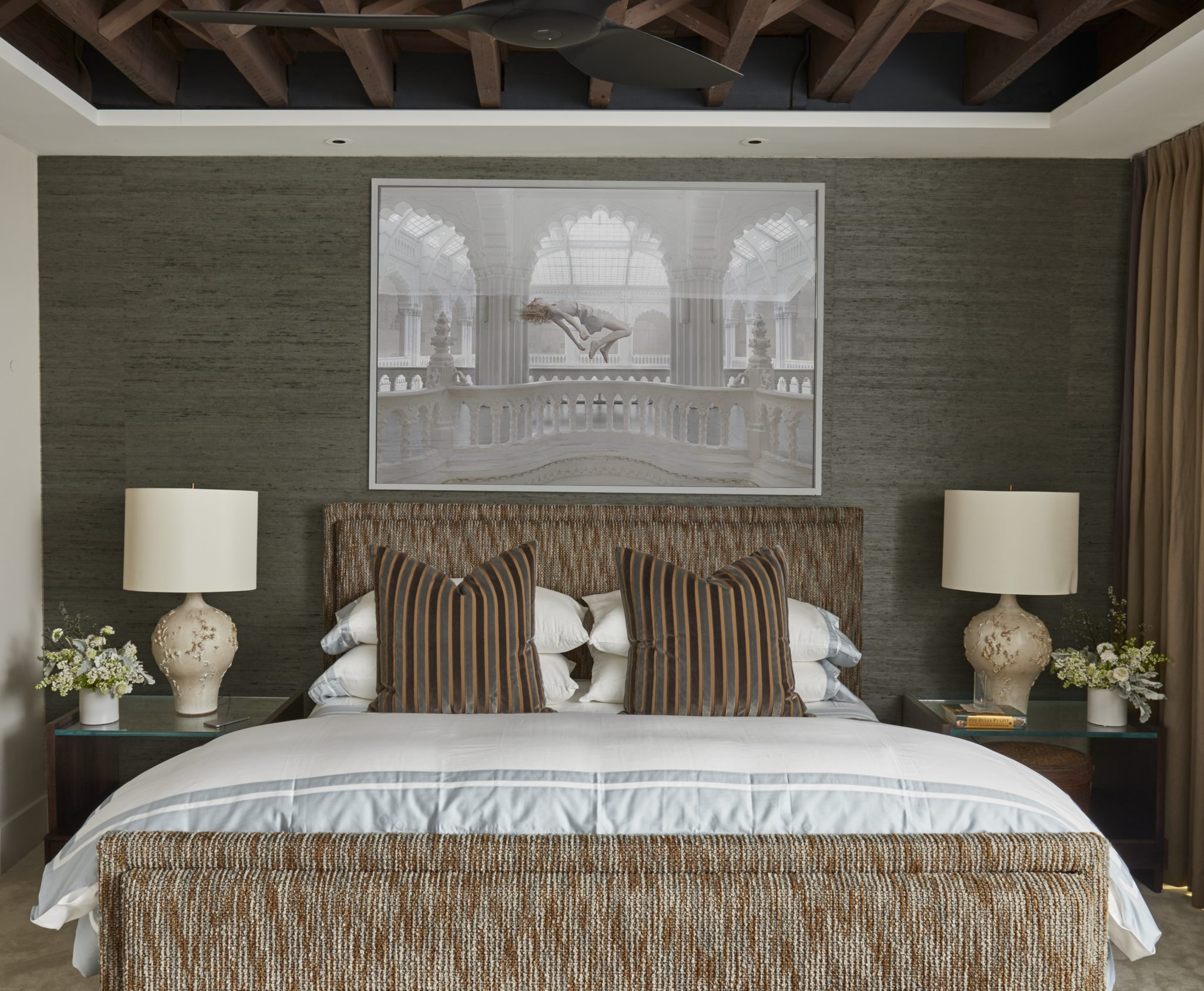 Upper West Side Brownstone, Master Bedroom by Katch I.D. Interiors