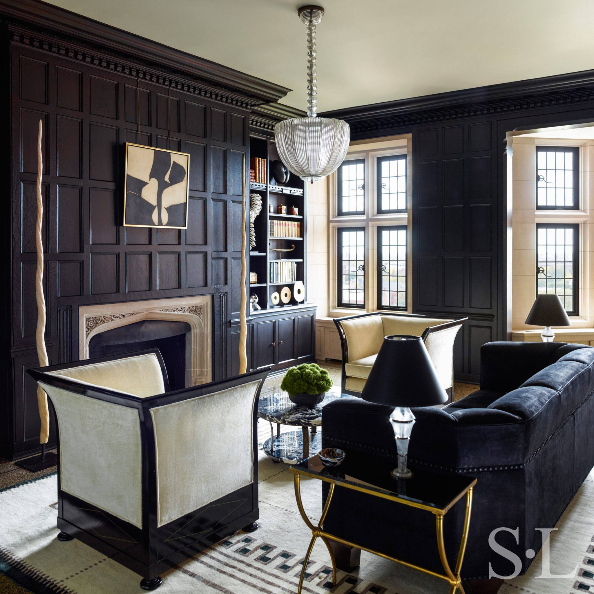 Interior design by Suzanne Lovell, Inc.