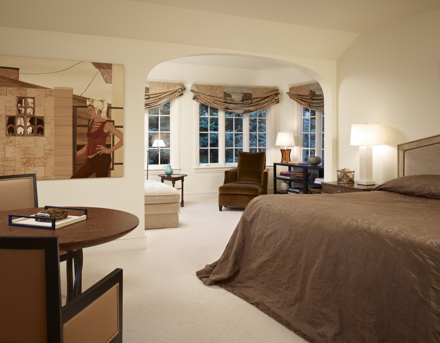 Bedroom by Mitchell Channon Design