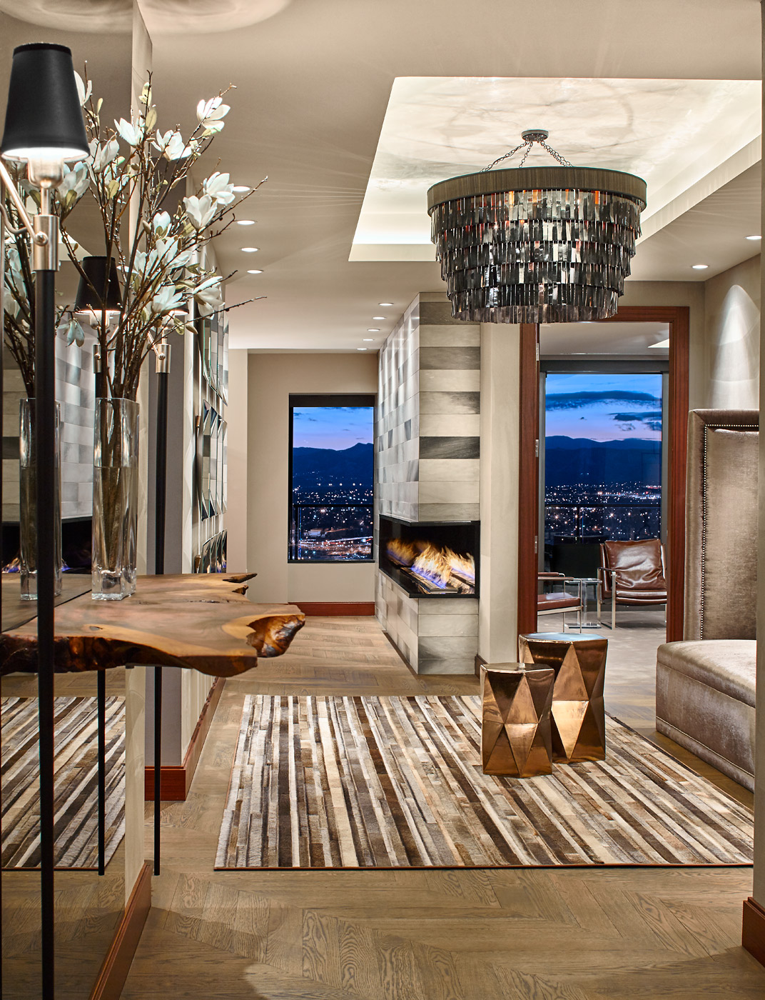 Four Seasons penthouse 02 by DH INTERIORS INC.
