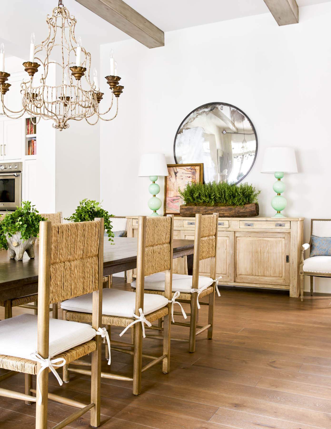 Wade Hampton Dining Room by Dodson Interiors