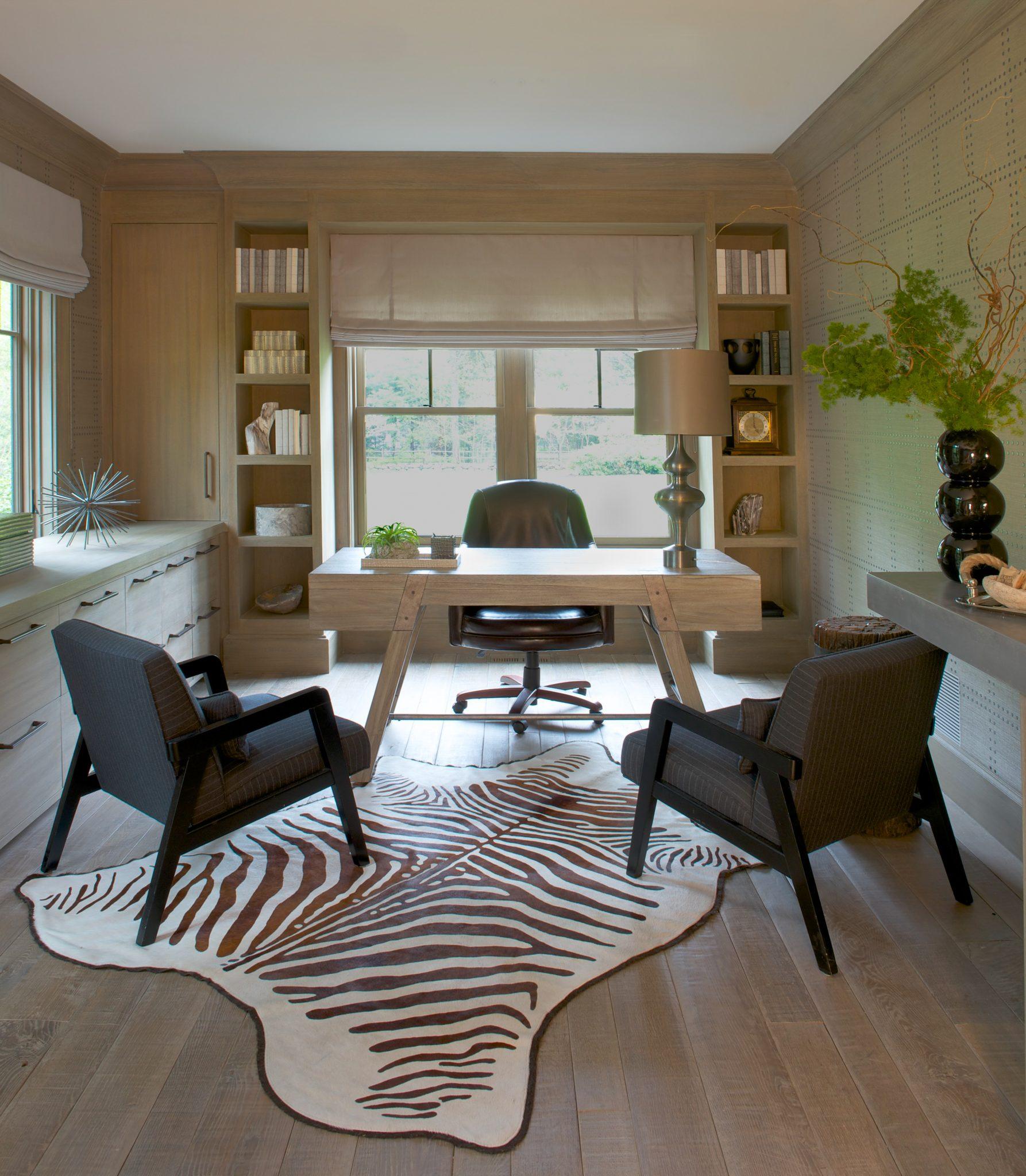 Contemporary home office by Brooks & Falotico Associates, Inc.