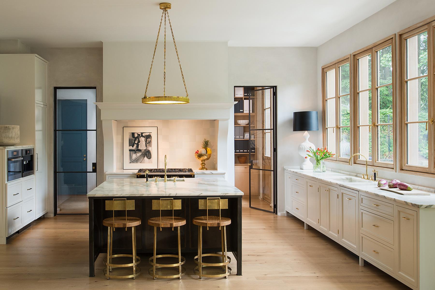 Contemporary kitchen by Barnes Vanze Architects, Inc.