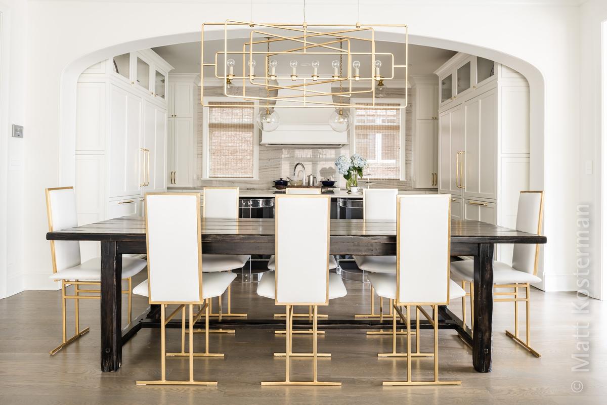 Modern meets vintage kitchen by Skin LLC